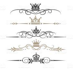 Calligraphic design element royalty-free stock vector art