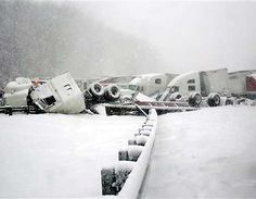 1/25/2007 Wicked Weather Causes Pileup on I-90 outside Erie, PA