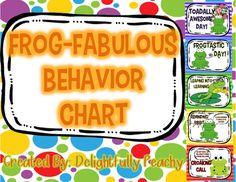Frog-Fabulous Behavior Chart
