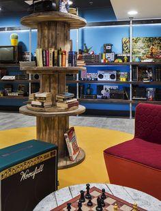 Hostel reflects the Barcelona spirit | Interior Design Ideas, Modern Furniture Design - zaINTERIORA.net