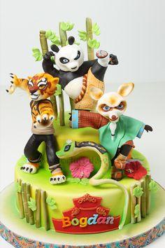 Kung Fu Panda #cake  http://www.viorica-torturi.ro/