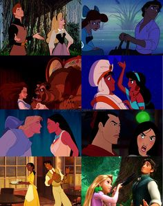 Love at first sight? Isn't even true in Disney movies!