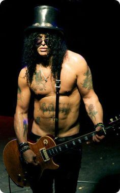 Slash- I would love to see this man perform!