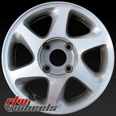"Nissan Altima wheels for sale 1998-2001. 15"" Sparkle Silver Machined Lip rims 62354 - http://www.rtwwheels.com/store/shop/15-nissan-altima-wheels-for-sale-sparkle-silver-machined-lip-62354/"