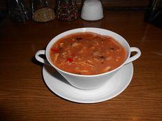 Sauer-scharfe Suppe (Rezept mit Bild) von gabriele9272 | Chefkoch.de