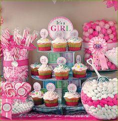 Baby Shower Ideas for Girls. #timelesstreasure