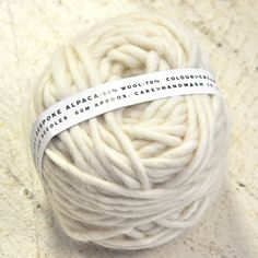 Alpaca - make yarn