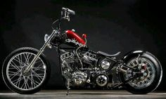 Black / Red chopper