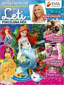 Modelar en #PORCELANA FRIA 2015 Las nueva Colección de Leti! #Evia