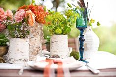 Unique Wedding Flower Combinations and Centerpieces | Bridal Banter Blog