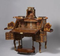 18th century transformer furniture blows away anything built today ... link to great video of it in action