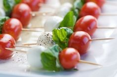 How to Make a Caprese Salad Appetizer in Minutes in News & Opinion on The Food Channel®