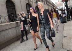 The Urban Vogue: After Herve Leger…NYFW September 2015