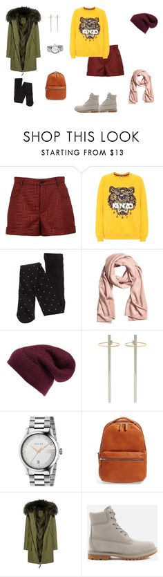 """Day 6"" by kryli4ka on Polyvore featuring мода, RED Valentino, Kenzo, Rebecca Minkoff, URiBE, Gucci, Shinola, Mr & Mrs Italy и Timberland"