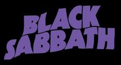 Black Sabbath - Logo (purple) First appeared on Master of Reality (1971)