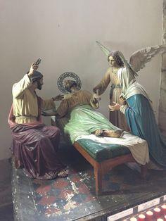 St Joseph Catholic, Catholic Art, Roman Catholic, Amazing Inspirational Quotes, Holy Family, Sacred Art, Art And Architecture, Christianity, Saints