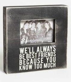 bridesmaid gift, picture frame, click to purchase