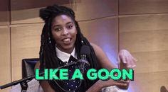 blackgirlmagic black girl magic jessica williams goon like a goon trending #GIF on #Giphy via #IFTTT http://gph.is/2avxmVK