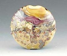 Earth Treasure organic focal Lampwork Beads, Organic, Earth, Floral, Flowers, Jewelry, Decor, Jewellery Making, Decorating