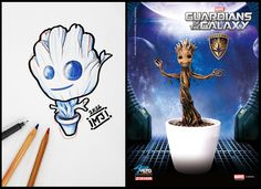 #iguardianidellagalassia #groot #marvel #guardiansofthegalaxy #cartoon #sketch #sketchcartoon #flash #drawing #illustrationi #disegni #arte #flashtattoo #illustrationitattuaggi #tattoo #tatuaggi #mrjacktattoo