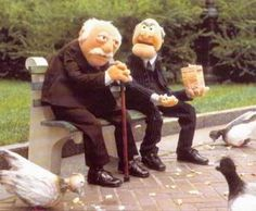 A Tribute to the Muppets Statler and Waldorf