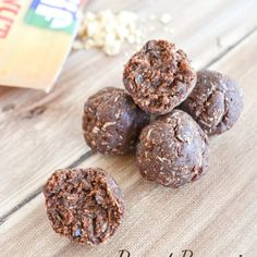 Peanut Brownie Protein Bites