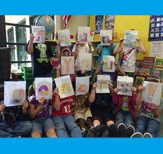 Leap for Literacy!  A project from Ms. Simpson.
