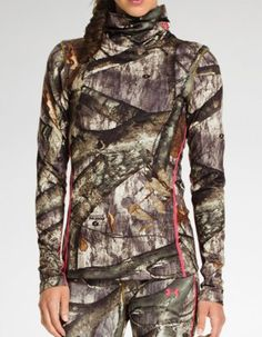 Scrunched neck Women's Hunting Clothing, Camouflage Clothing & Gear - Under Armor pink camo
