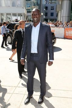 "Omar Sy Photos: ""Samba"" Premiere - Arrivals - 2014 Toronto International Film Festival Dior Homme suit"
