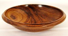 SOLD 596 Granadillo wooden bowl by Eccentric Old Guy