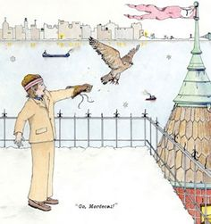 go mordecai, illustration, mordecai, richie tenenbaum, the royal tenenbaums, wes anderson