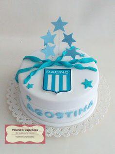 Valeria´s Cupcakes: Torta de Racing