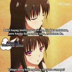 Filipino Quotes, Pinoy Quotes, Tagalog Quotes Hugot Funny, Hugot Lines Tagalog, Depression Quotes, Anime Meme, Wallpaper Quotes, Volleyball, Words Quotes