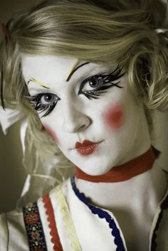 Airbrush Design/High Fashion Makeup! by Cinema Makeup School