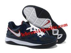 16420fcc5d97 Nike Zoom Lebron 8 Low Shoes Blue Black White New Jordans Shoes