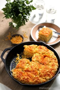 Cornbread went creamy and we aren't mad about it. Get the recipe from Melanie Makes.   - Delish.com