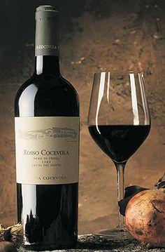 Red wine produced in #Andria #Puglia