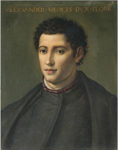 Portrait of Alessandro de' Medici (Il Moro), Duke of Florence and Penne (late 16th or early 17th century)