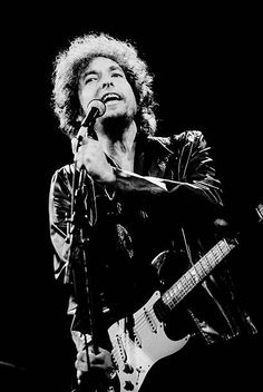Jun 10 1981 Bob Dylan at the Poplar Creek Music Theater in Hoffman Estates Chicago Illinois