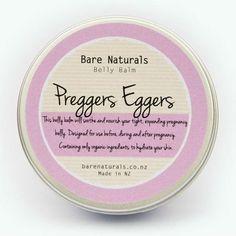 Preggers Eggers Belly Balm