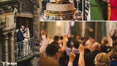 Harry Potter Hayranlarını Büyüleme Garantili Harika Düğün