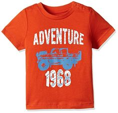 Mothercare Baby Boys' T-Shirt (LF428-1_multicoloured_12-18 Months)