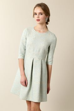 44e2c5e7e15bd ほんのりパステルグリーンが可愛らしい♪結婚式のゲストにぴったりのドレス一覧♪