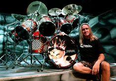 Nicko McBrain- Iron Maiden