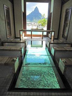 """Thalasso Resort & Spa"" Bora Bora  Wedding Chapel"
