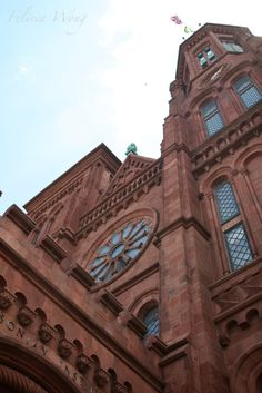 The Smithsonian Castle in Washington D.C. ~beautiful!