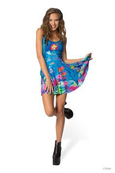 Ariel Vs Ursula Inside Out Dress - LIMITED › Black Milk Clothing