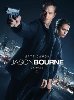 Starring Alicia Vikander, Matt Damon, Tommy Lee Jones   Jason Bourne, now remembering who he truly is, tries to uncover hidden truths about his past.