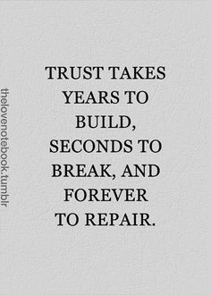 13 Quotes About Learning To Trust Again After Someone Cheats