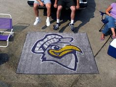 Tennessee UT Chattanooga Mocs 5X6ft Indoor/Outdoor Tailgate Area Rug/Mat/Carpet